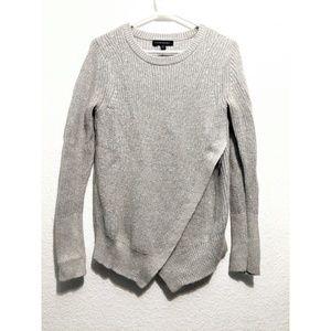 Banana republic knit asymmetrical hem sweater